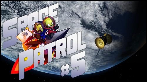 "Space Patrol #5 – ""RemoteTech ComSat Network"" – modded Kerbal Space Program"