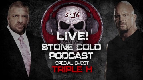 Stone Cold Podcast with guest Triple H – This Monday on WWE Network after Raw