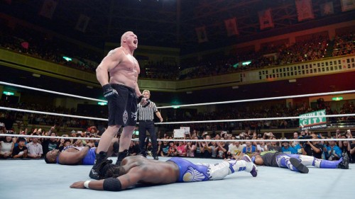 WWE Network: Kofi Kingston vs. Brock Lesnar: Brock Lesnar: The Beast in the East, July 4, 2015