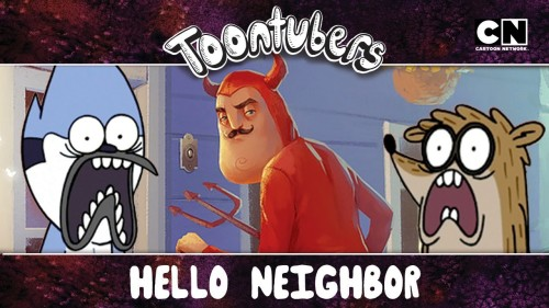 Hello Neighbor, ¡choca esos cinco! ¡TERMINAMOS TU JUEGOOOOOOOHHHHHH! | Toontubers | Cartoon Network